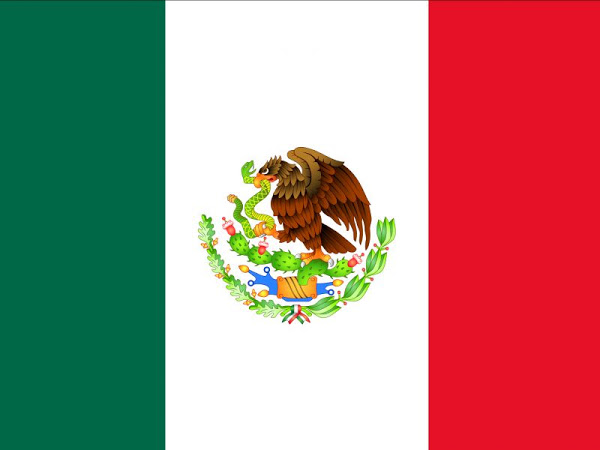 Mexican Flag Colors Flag Of México